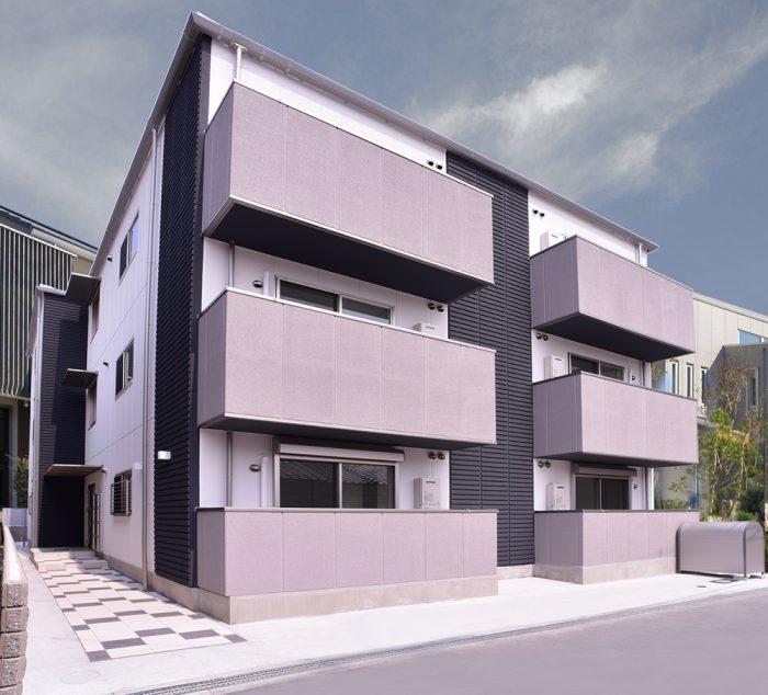 収益用新築アパート